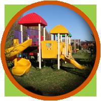 Детские площадки в коттеджном поселке